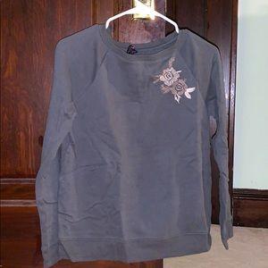 Betsy Johnson green sweatshirt
